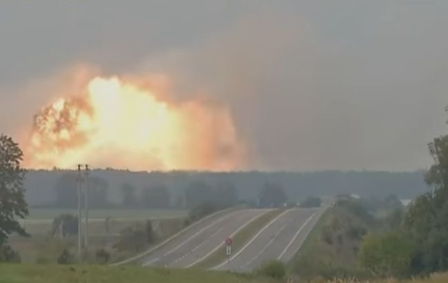 Взрывы на арсенале под Калиновкой произошли из-за диверсии, - Венедиктова