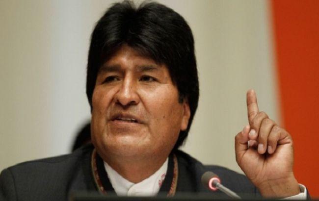 Моралес назвав підступним ударом зміну влади в Болівії