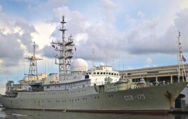 Біля берегів США був помічений російський розвідувальний корабель