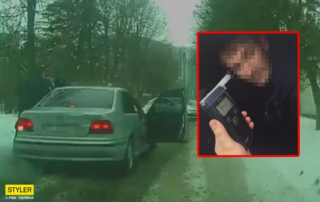 У мене голова не варить: у Львові водій влаштував перегони з поліцією (відео)