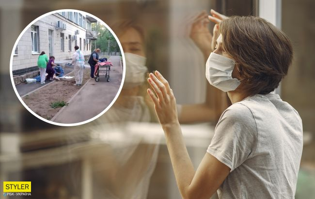 У київській лікарні масово вистрибують з вікон: там лікують від COVID-19