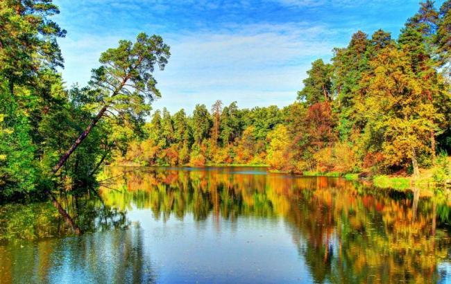 Фото: Озеро Горащина в Пуще-Водице (wikimapia.org)