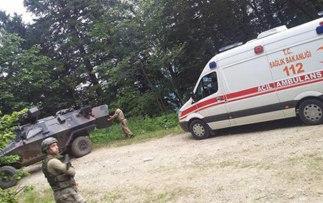 Двое военнослужащих пострадали при взрыве вТурции