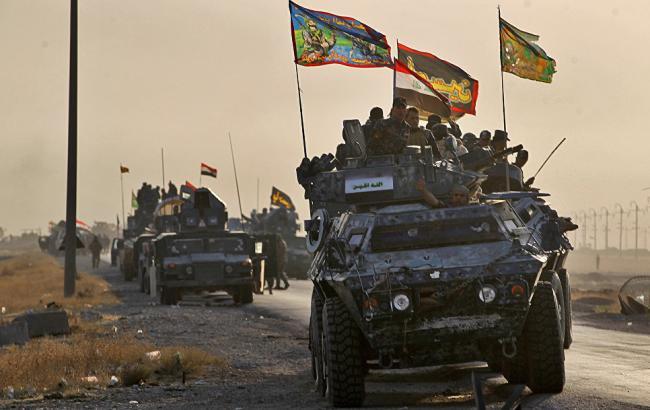 Фото: іракські війська продовжують наступ на терористів у Мосулі
