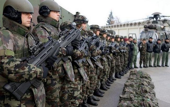 Эстония начала общие учения сармией США