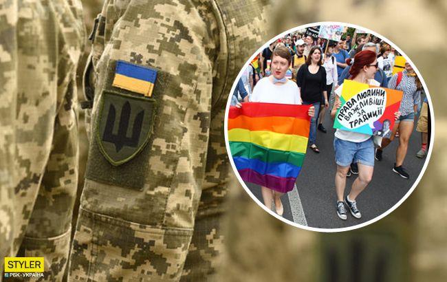 На ЛГБТ-марше в Киеве впервые пройдет колонна с военными: все детали