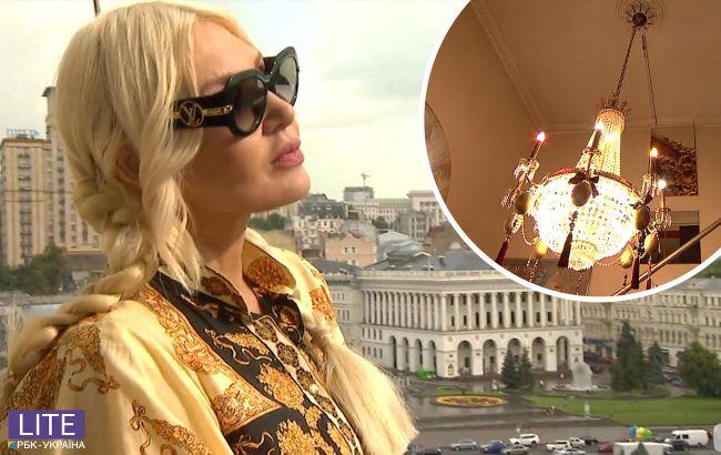 Епатажна ведуча показала пентхаус у центрі Києва: головна фішка - люстра за 6000 доларів