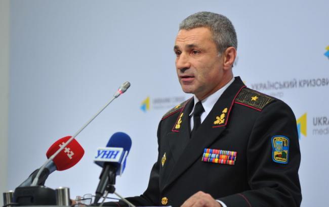 Фото: головнокомандувач ВМСУ Ігор Воронченко