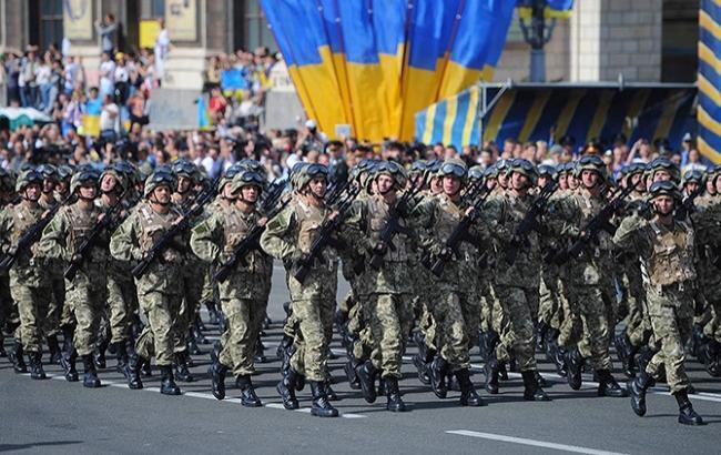 Фото: День защитника Украины (thekievtimes.ua)