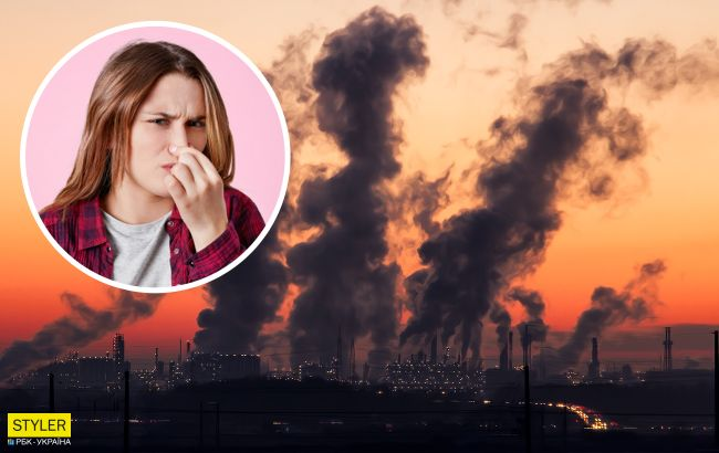 Украину накрывает ужасный смог. Такое бывает только в самых грязных центрах Азии и Африки (фото)
