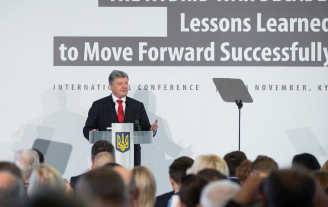 Порошенко: РФ намагається забезпечити реванш проросійських сил в Україні на виборах-2019