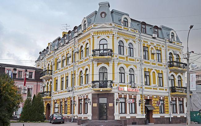 Офис банка-банкрота в Киеве на Подоле продают за 60 млн грн