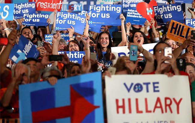 Фото: американські ЗМІ пророкують перемогу Хілларі Клінтон
