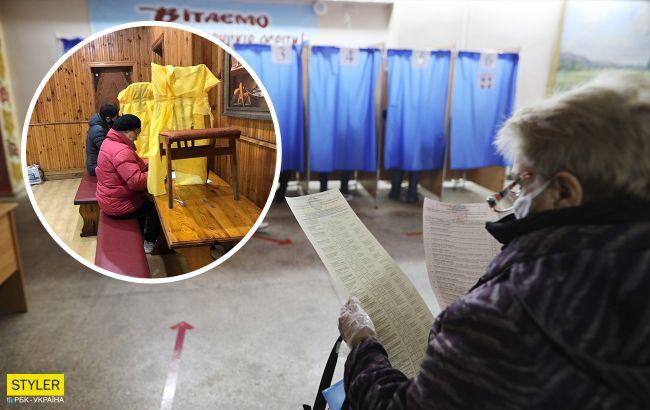 Антиковидная кабинка и голосование под стремянками: лучшие курьезы на местных выборах