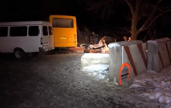 Під Артемівськом автобус підірвався на міні, загинули 3 пасажири, - МВС