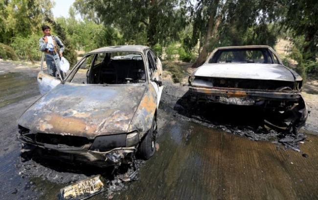 Фото: теракт в Афганістані (twitter.com/etribune)