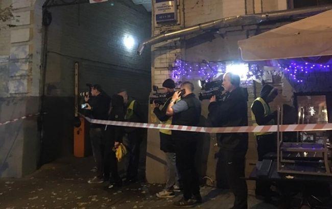Поліція назвала основну версію вибуху у центрі Києва