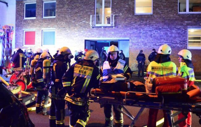 При взрыве вцентре Кёльна пострадали несколько человек