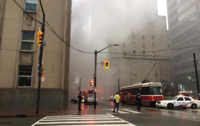 У Торонто в діловому кварталі прогримів вибух