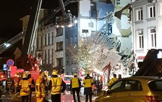 Фото: взрыв в Бельгии (twitter.com/noa_tuyaerts)