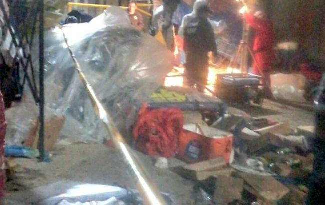 При взрыве накарнавале вБоливии погибли восемь человек