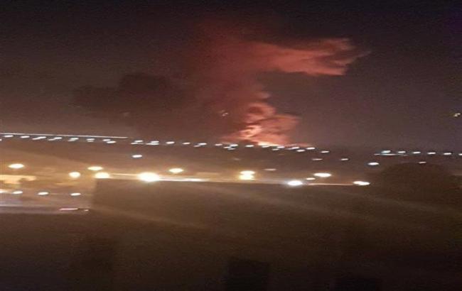 Фото: взрыв у аэропорта Каира (скриншот видео)