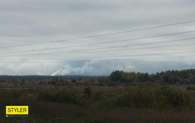 За фактом вибухів у Чернігівській області відкрито кримінальне провадження