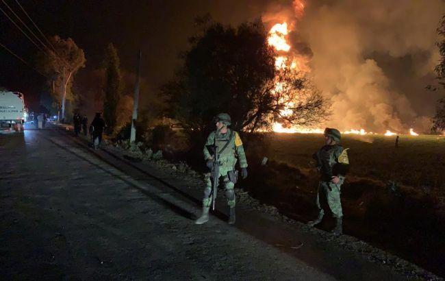 В Мексике произошел взрыв