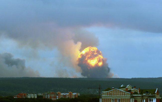 Вибухи на складі боєприпасів у РФ: відкрили повітряний простір