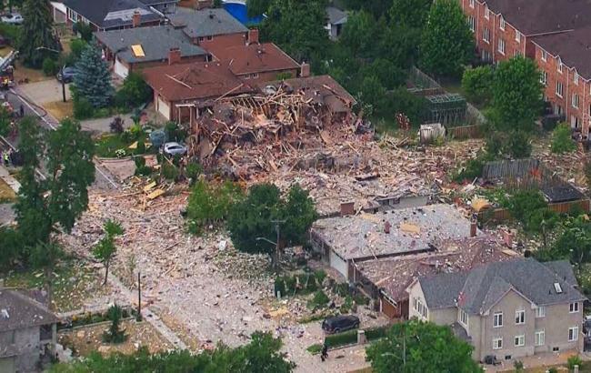 Фото: в канадській провінції в результаті вибуху пошкоджено 25 будівель