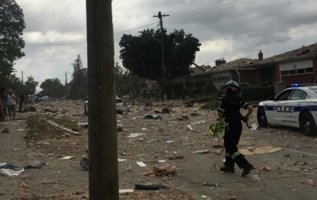 Фото: у провінції Онтаріо вибухнули 4 житлових будинки