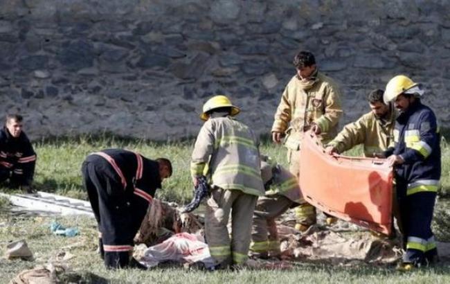Фото: в Кабуле прогремел третий взрыв