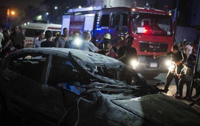 В одном из автомобилей, столкнувшихся в Каире, была взрывчатка