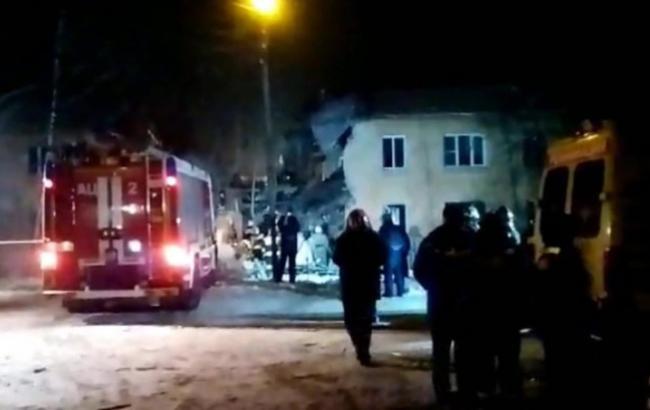 Фото: в российском городе Иваново взорвался бытовой газ