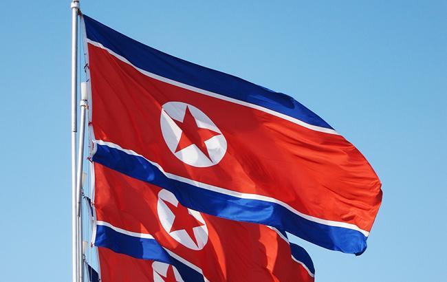 Фото: прапор КНДР (wikimedia.org)
