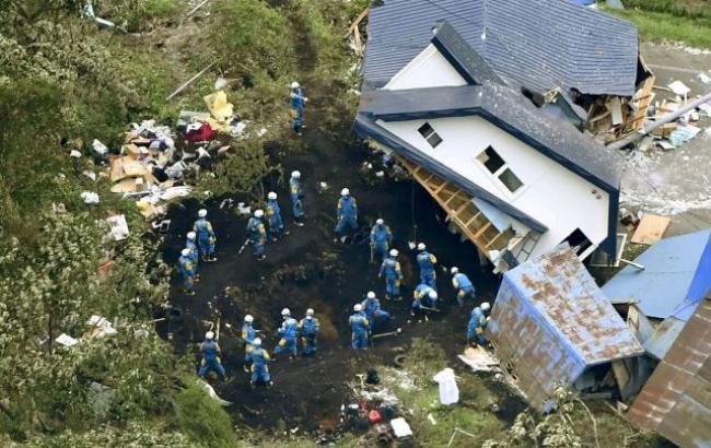 Фото: землетрус у Японії (euronews)