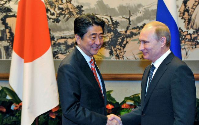 Фото: Володимир Путін готовий вести діалог з Японією з приводу Курил