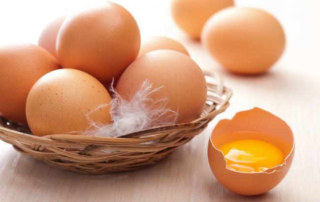 Фото: курячі яйця