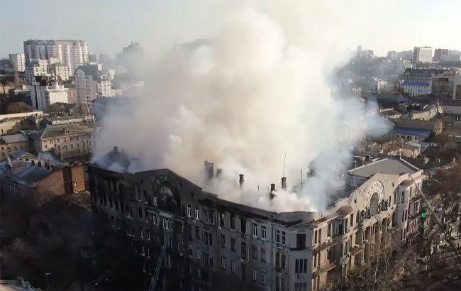 Ще одного підозрюваного у справі про пожежу в одеському коледжі обрали запобіжний захід