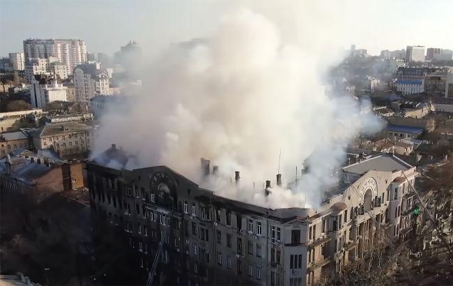 Пожар в одесском колледже: в суд направили обвинительные акты