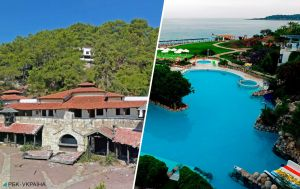Сотни роскошных комнат и гигантские скульптуры. Заброшенный отель в курортном регионе Турции удивляет туристов