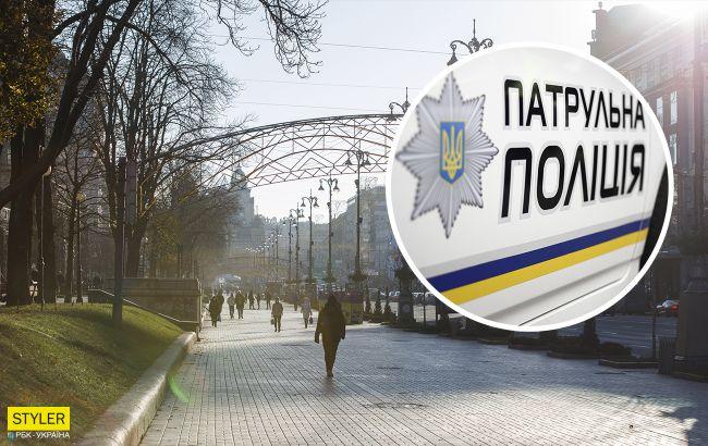 Мужчина решил справить нужду на Майдане и получил мгновенную расплату (видео)