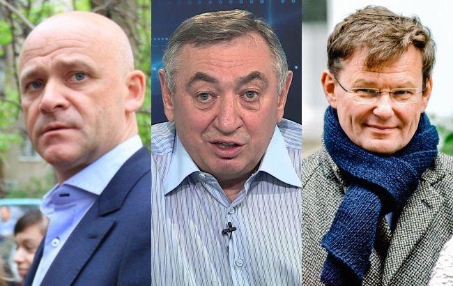 Фото: Труханів, Гурвіц і Боровик - головні претенденти на пост мера