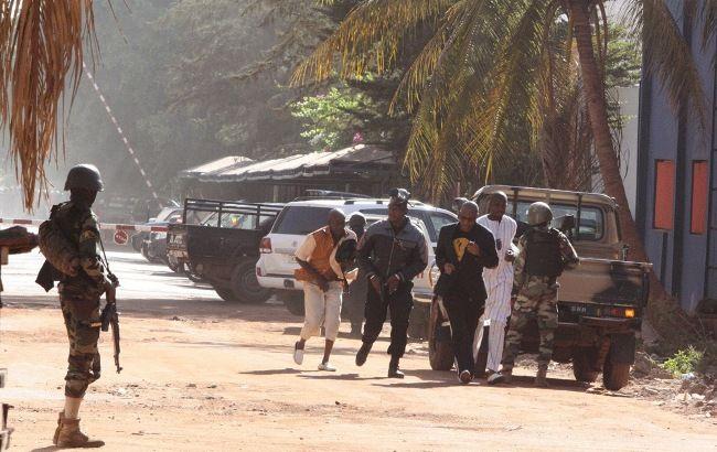 Фото: захват заложников в Мали