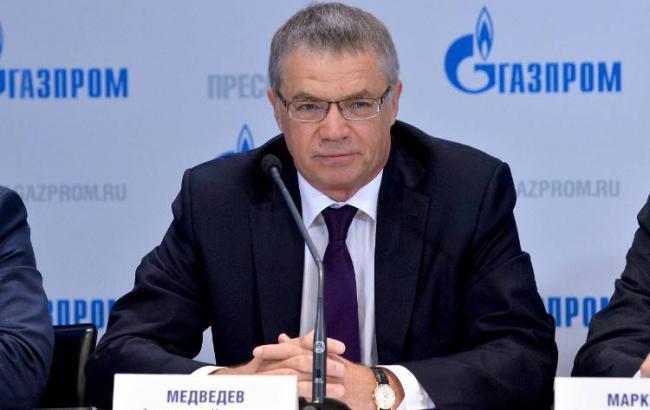 "Фото: зампред правления ""Газпром"" Александр Медведев"