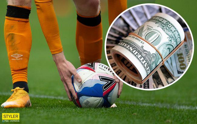 Стали известны зарплаты украинских футболистов. Кто получает заоблачные деньги