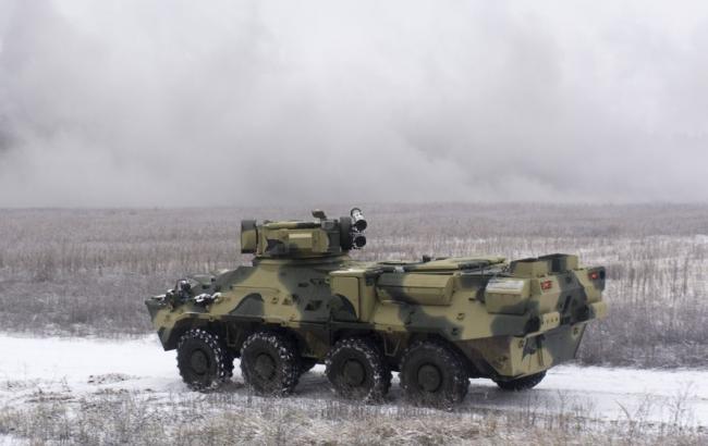 """""""Укроборонпром"""" изготовил корпус БТР из стали страны НАТО"""