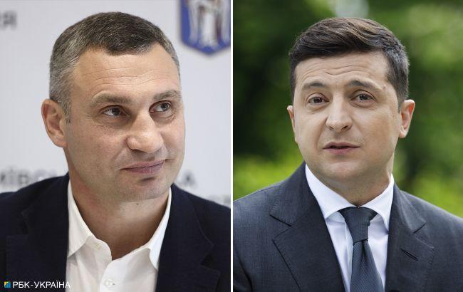 Рейтинг доверия украинцев возглавляют Зеленский и Кличко