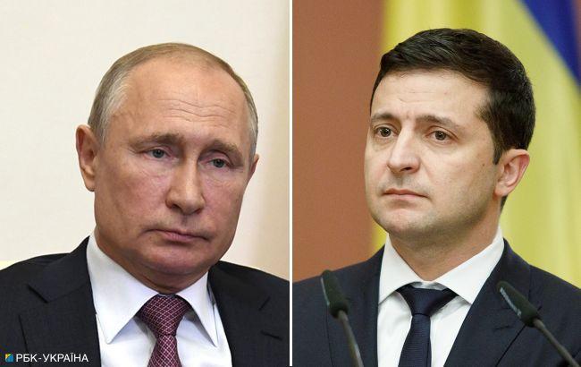 """Зеленский предложил Путину встретиться """"в любой точке Донбасса, где идет война"""""""
