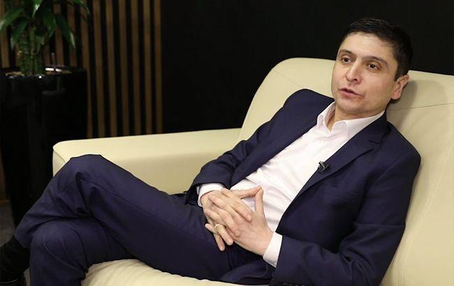 Зеленський в Ялті: двійник президента України знявся в кіно (відео)